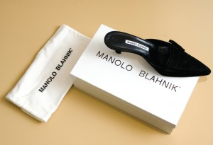 Manolo Blahnik packaging